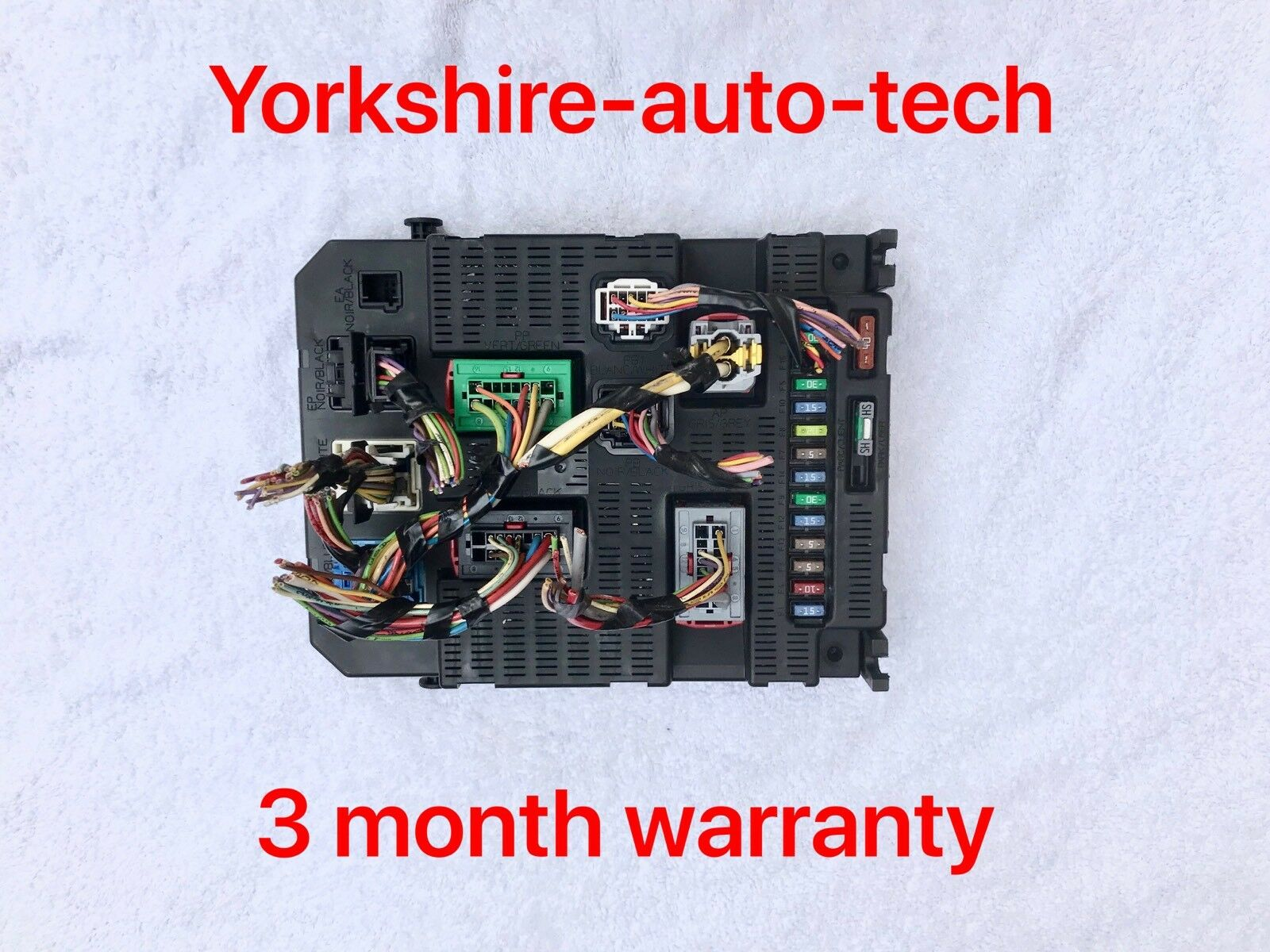 Citroen C4 Peugeot 207 16 Petrol Fuse Box Bsi Module 9659285580 1 Of 3only Available