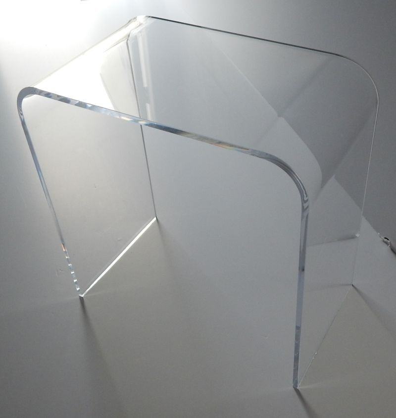 21 x 12 x 21 high x 1 2 clear acrylic end table 129 for 12 x 12 end table