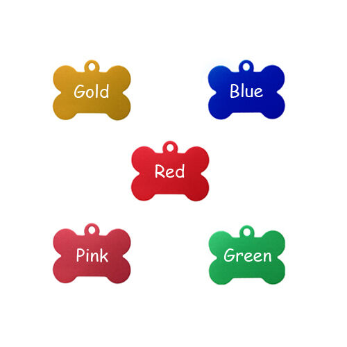 DOUBLE SIDED Free Custom Engraved Dog Tag Cat Tag Pet ID Name Tags/Free Shipping