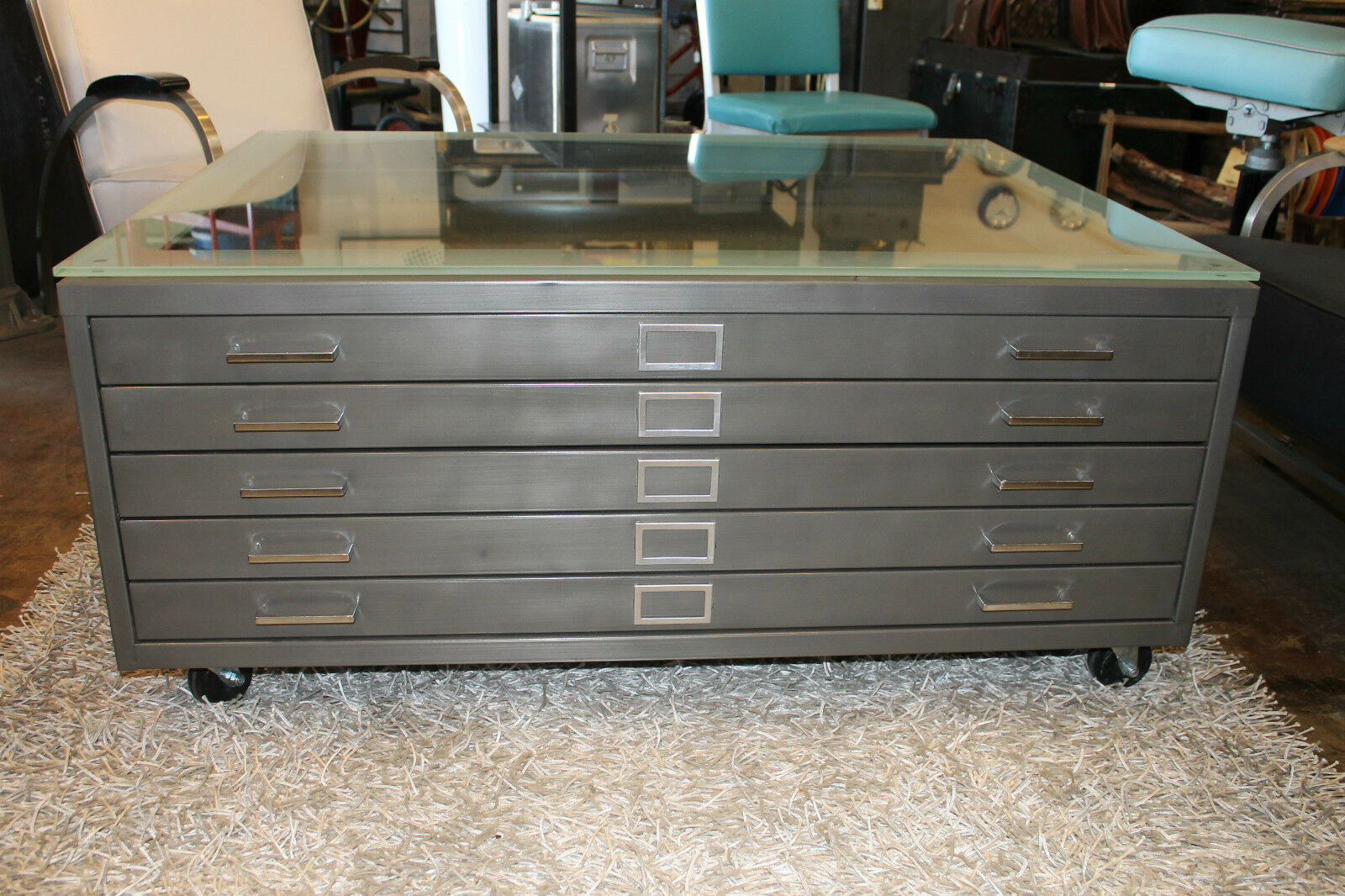 Flat File Coffee Table 1 Picclick