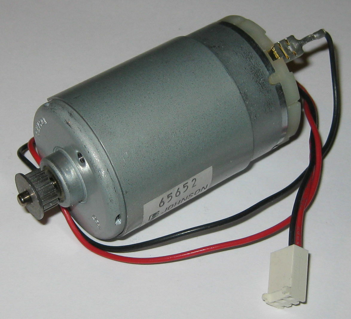 Johnson electric motor with gear 12 v dc 1800 rpm for Johnson electric dc motors