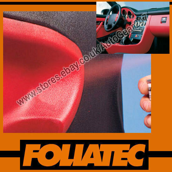 foliatec boat car interior dashboard door plastic vinyl red spray paint 400ml. Black Bedroom Furniture Sets. Home Design Ideas