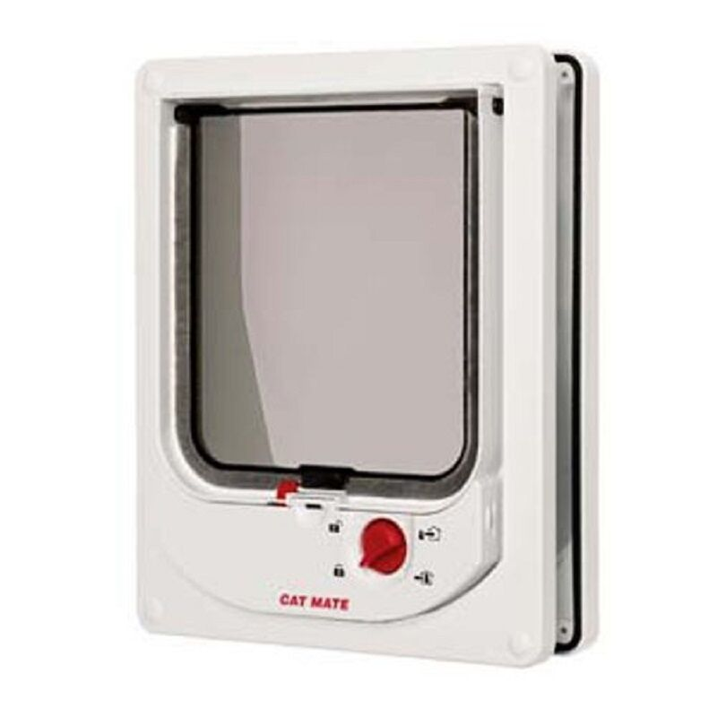 Cat Mate Electromagnetic Cat Flap For Upvc / Timber Doors - White (254w)
