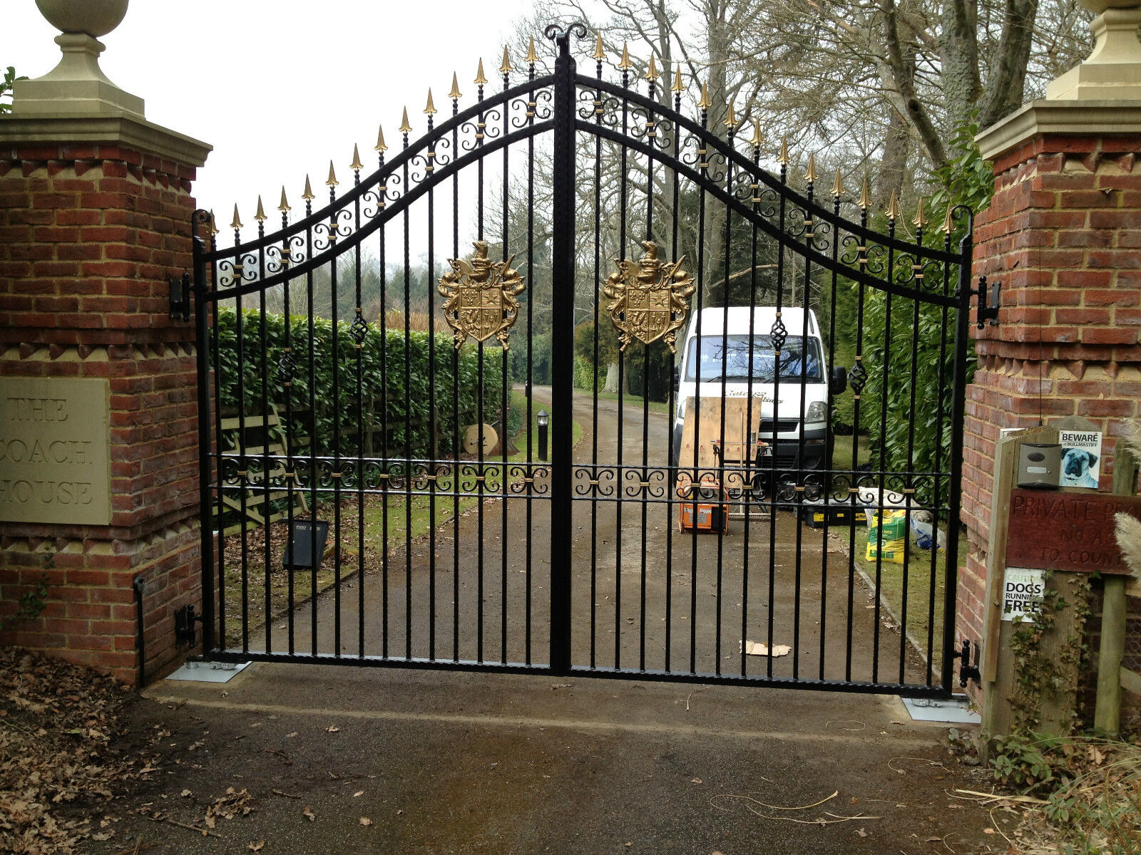 Estate driveway gates quality products from english family