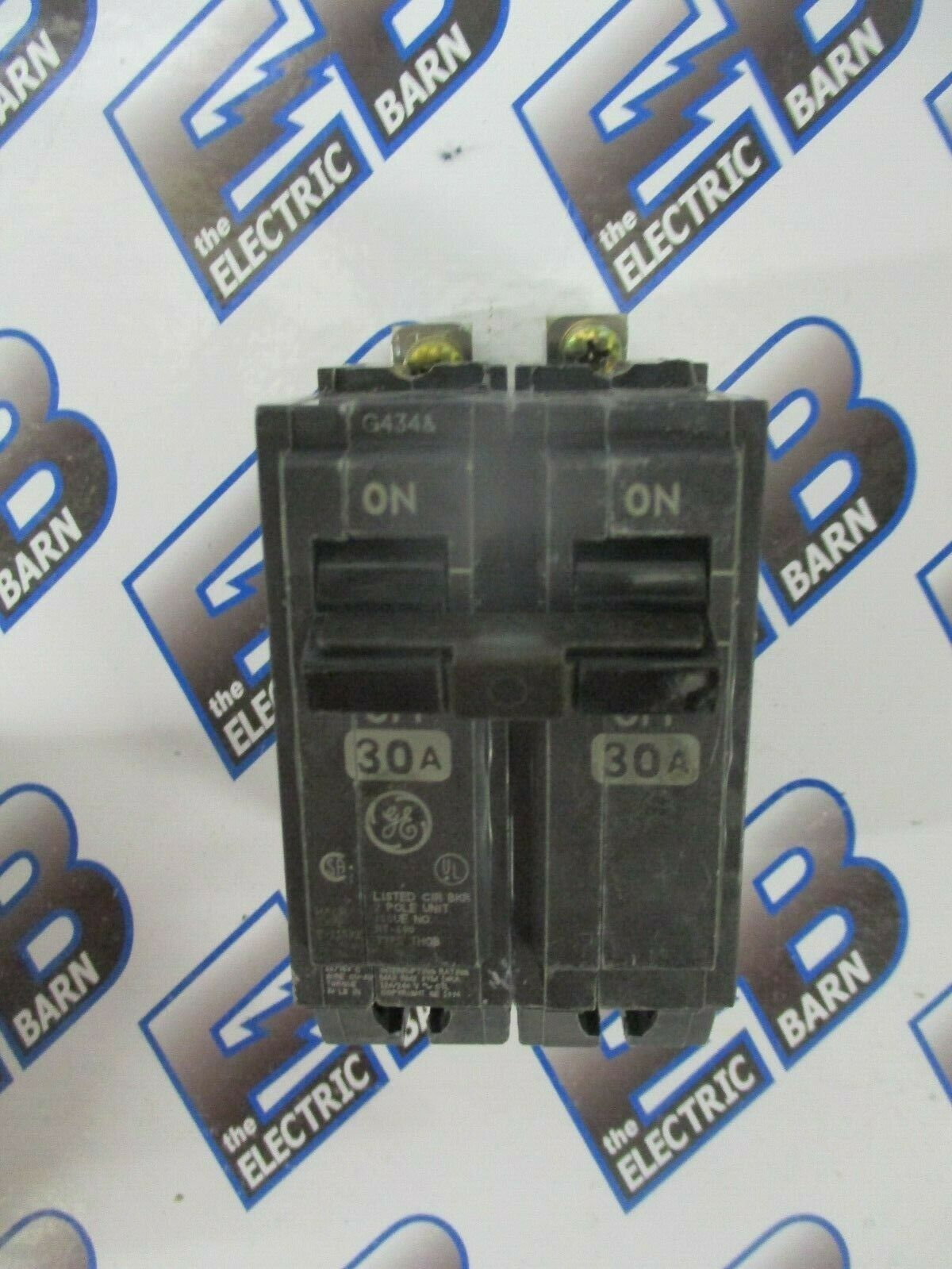 GE THQB2130 2 POLE 30 AMP 240 VOLT BOLT ON Circuit Breaker- WARRANTY