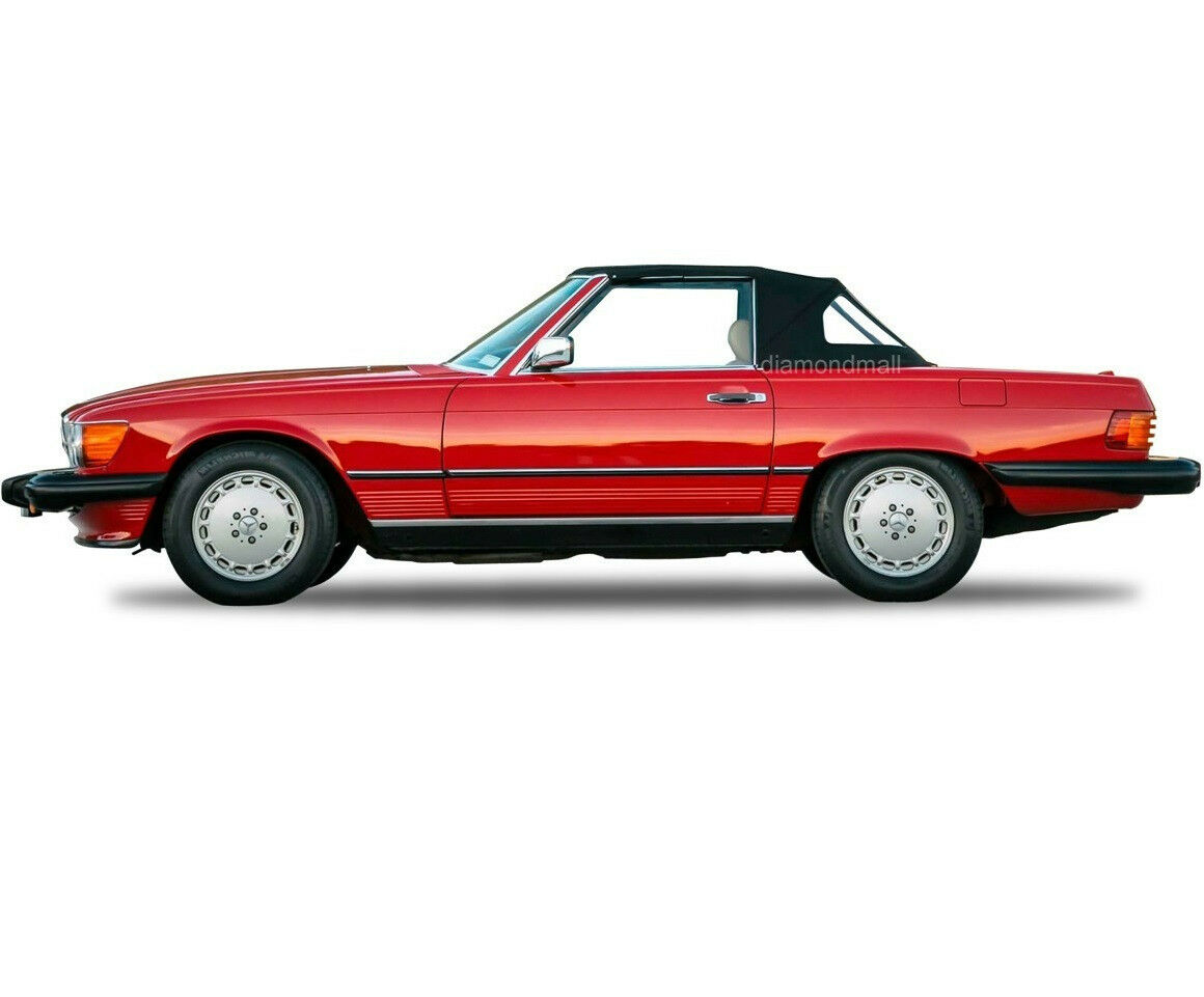 Mercedes r107 560sl 380sl 450sl convertible soft top 1972 for Mercedes benz sl500 convertible top parts