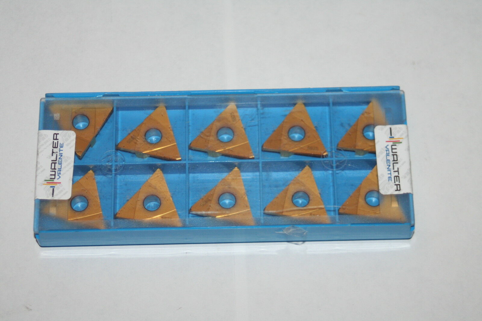 Lot Of 10 Walter Valenite It00tn 6116046 Tin Coated Carbide Inserts Holder 5825 Insertsgrade 1 3only 4 Available See More