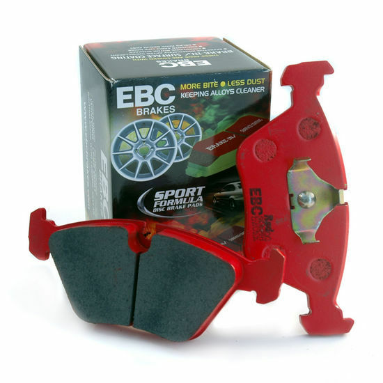 ebc redstuff front brake pad set for clio sport 172 182 dp31369c picclick uk. Black Bedroom Furniture Sets. Home Design Ideas