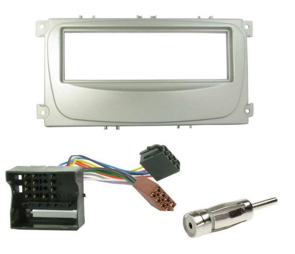 Ford Focus Mondeo S Max 2007 Cd Radio Stereo Fascia Facia Adapter 1 Of 1free Shipping