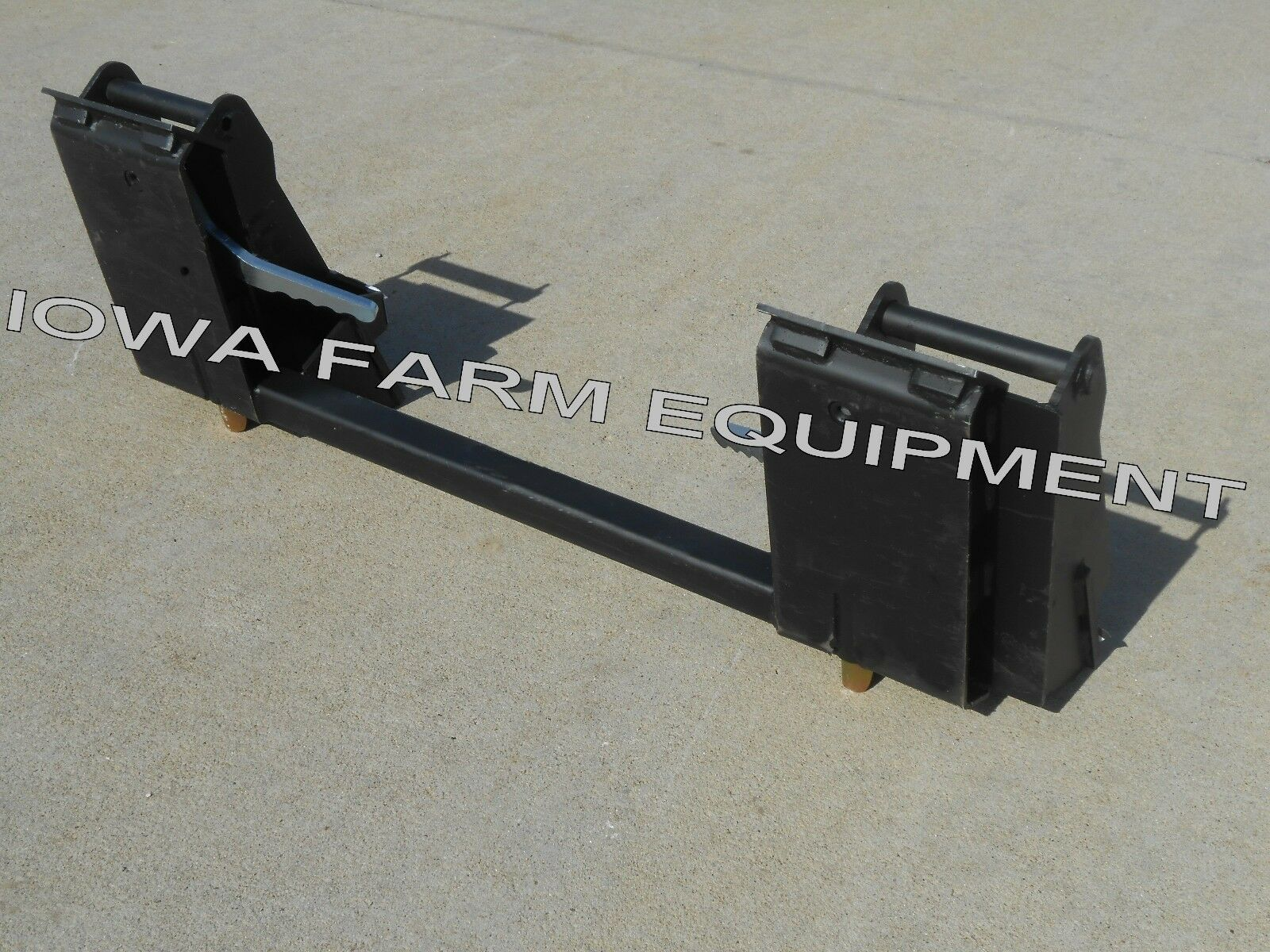 Ford Loader Arms : Ford new holland pin on loader to skid steer quick attach