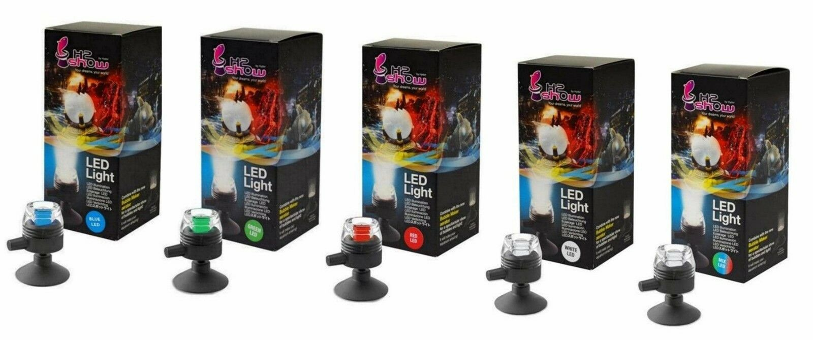 HYDOR H2SHOW UNDERWATER LED LIGHTING (with 2 year guarantee)