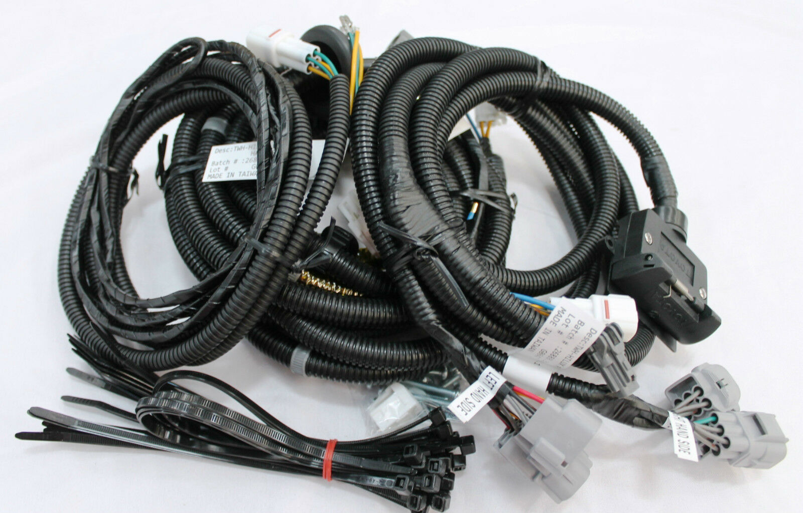 Toyota Hilux Towbar Wiring Harness 7 Flat Wmate Sr Sr5 Black Feb 05 July 15 1 Of 5only Available