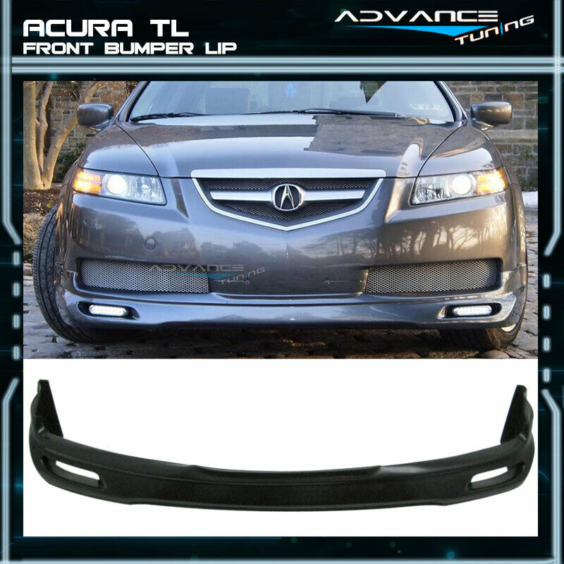 FOR ACURA TL JDM Poly Urethane Front Bumper Lip Spoiler - 2004 acura tl front lip