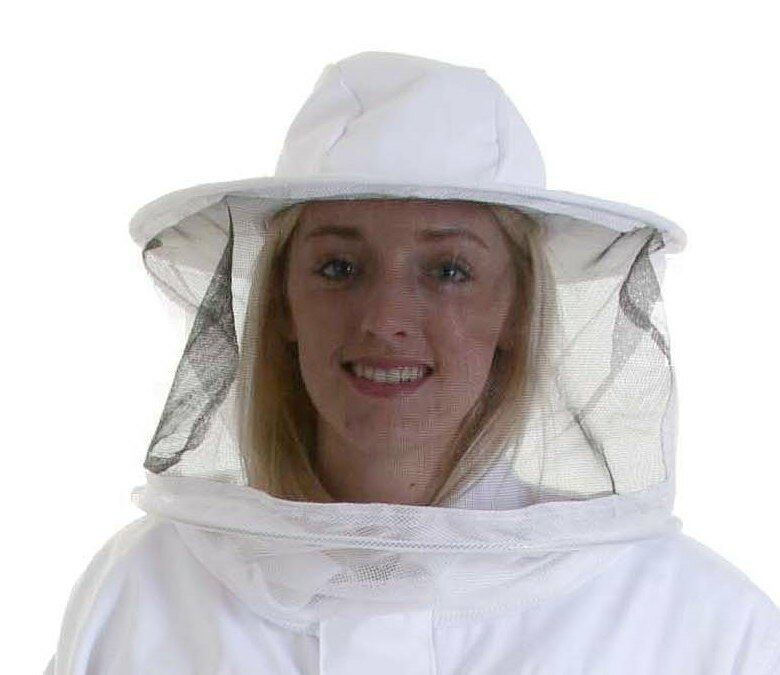 Beekeepers SPARE ROUND BEE VEIL / HAT for and Suits