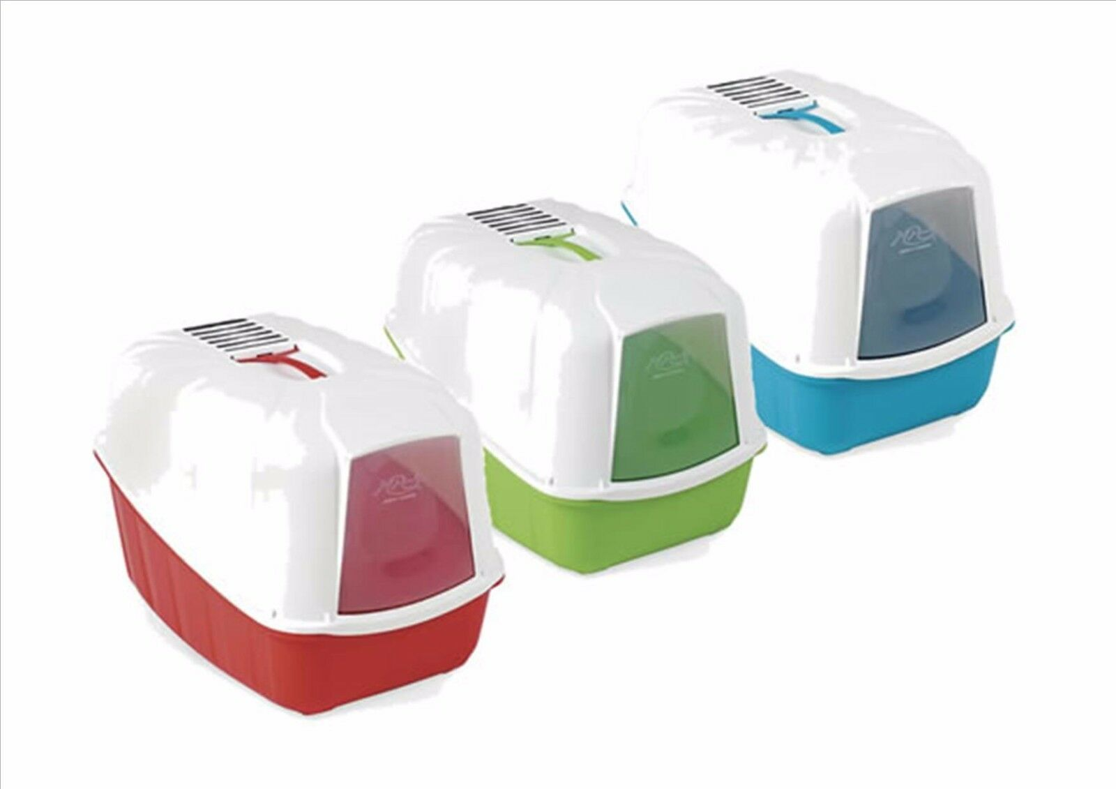 Cat Toilet Home Hooded Cat Litter Tray With Carbon Filter And Door 3 Colours