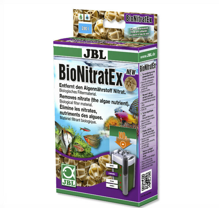 JBL BioNitratEx 240g Removes Nitrate from your aquarium - FAST DELIVERY * NEW