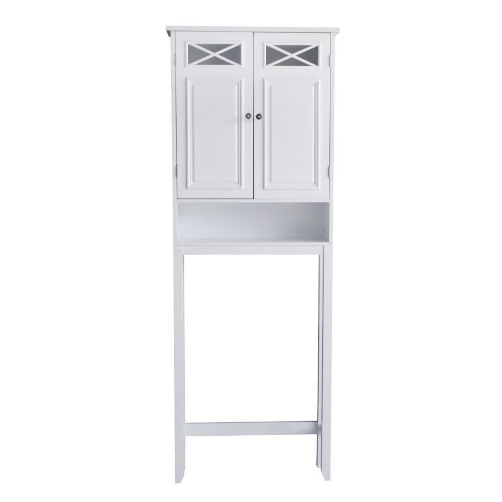 Dawson floor cabinet cupboard space saver for bathroom for Chapter bathroom space saver white assembly instructions