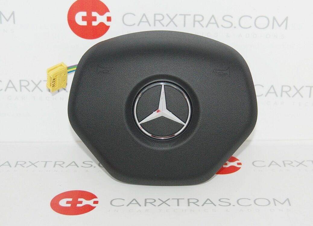 New genuine mercedes benz amg steering wheel airbag c cls for Mercedes benz airbags