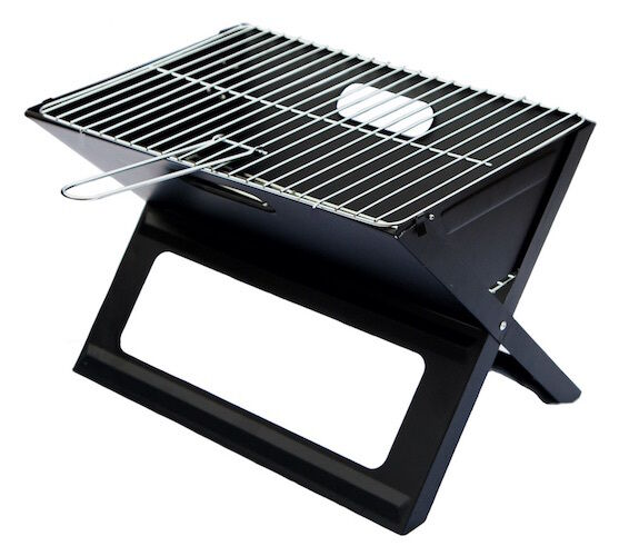 notebook folding grill portable bbq foldable picnic. Black Bedroom Furniture Sets. Home Design Ideas