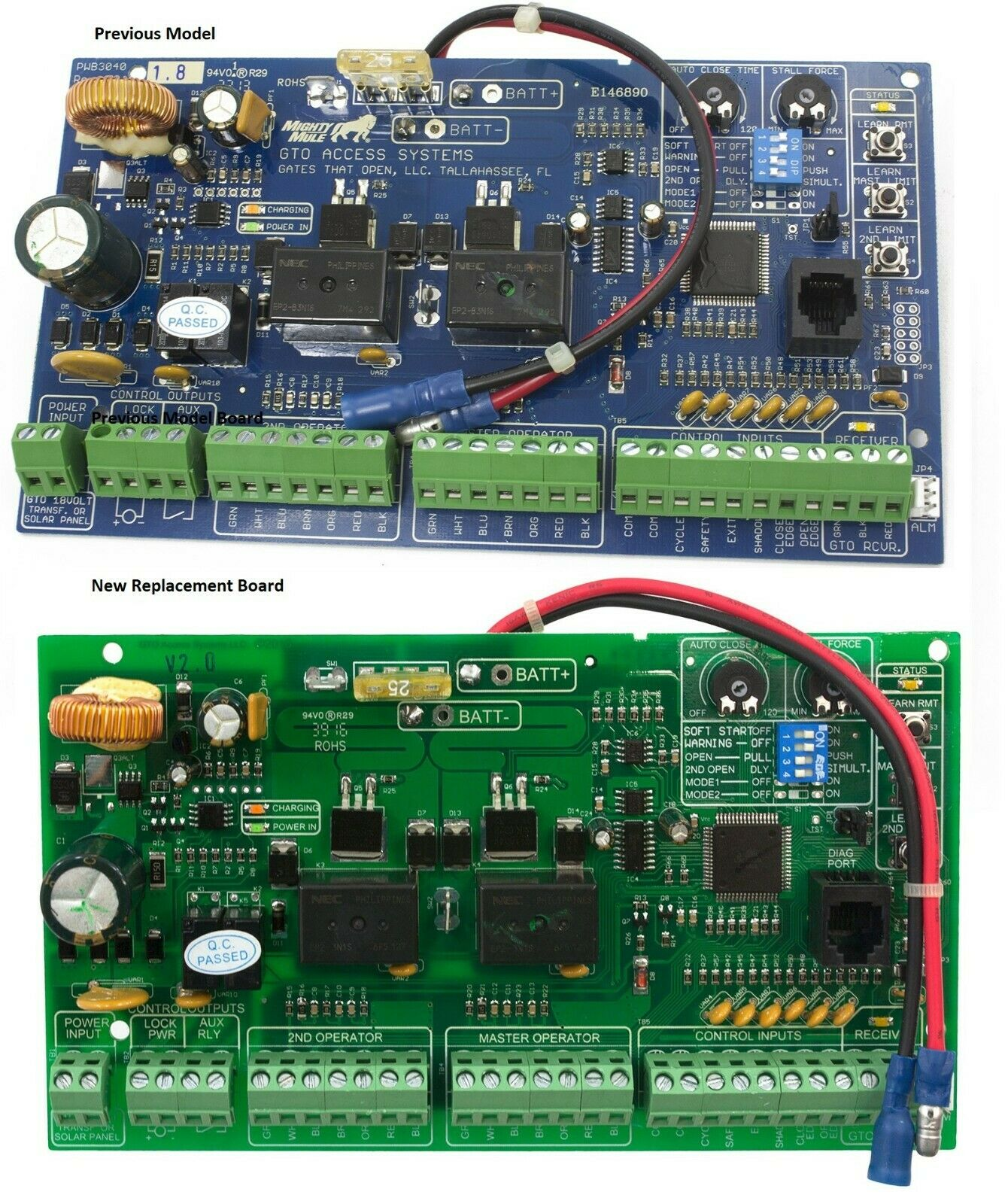 Gto Sw4000xl Sw4200xl Parts Replacement Control Circuit Board For Learn About Boards 1 Of 1free Shipping
