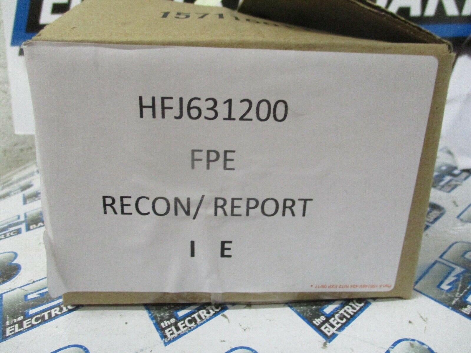 Fpe Hfj631200 200 Amp 600 Volt 3 Pole Circuit Breaker Recon W C230 Challenger New Used And Obsolete 1 Of See More