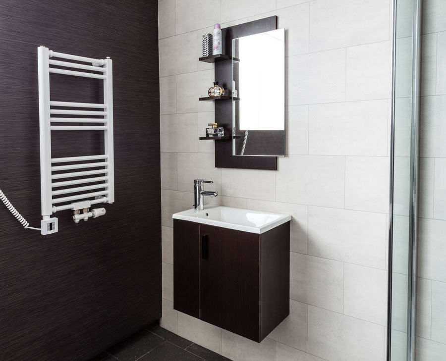 badm bel g ste wc wenge waschtisch 50cm badezimmerm bel waschbecken uvp 499 00 eur 259 90. Black Bedroom Furniture Sets. Home Design Ideas