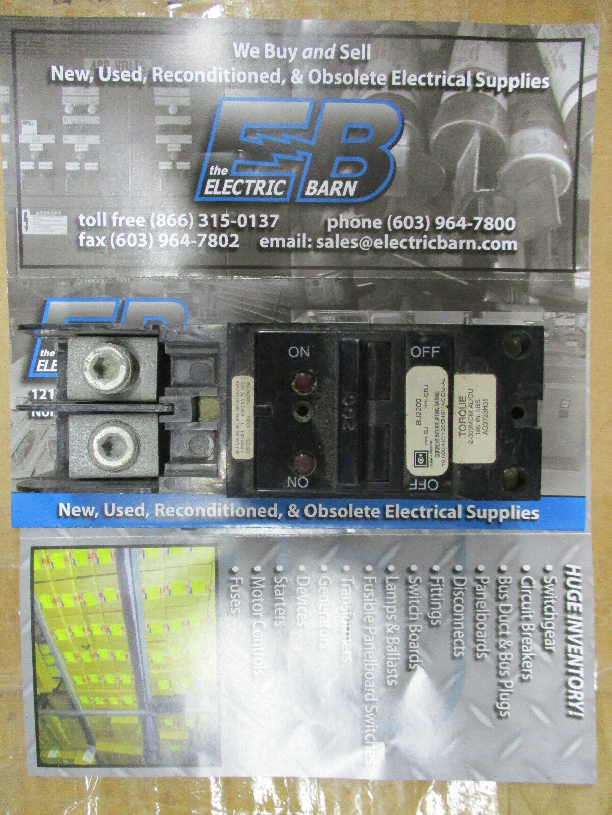 Cutler Hammer Bj2200 2 Pole 200 Amp 240 Volt Circuit Breaker 200amp Main With 60amp Generator Warranty 1 Of 1only 0 Available See More