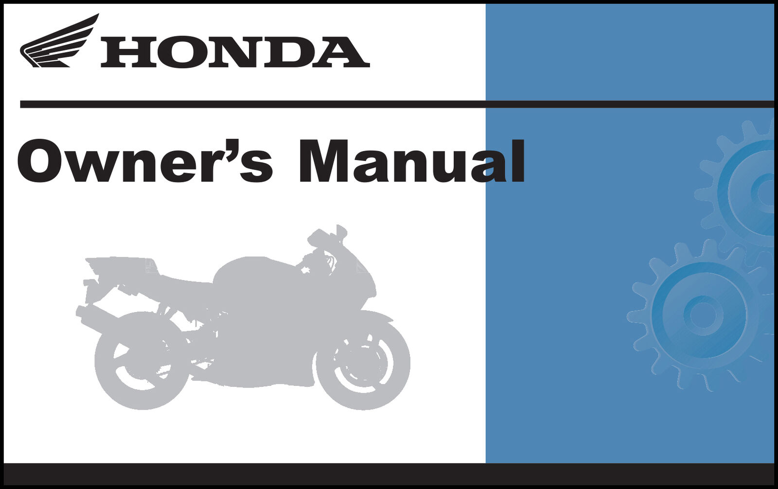 Honda 2002 CB750 Nighthawk Owner Manual 02 1 of 1FREE Shipping ...