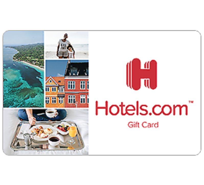 Hotels.com Gift Card - $25 $50 $100 or $200 - Fast Email delivery