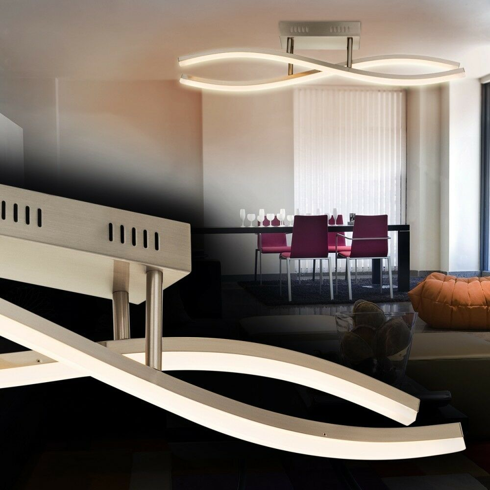 deckenlampe led design zimmer deckenleuchte lampe. Black Bedroom Furniture Sets. Home Design Ideas