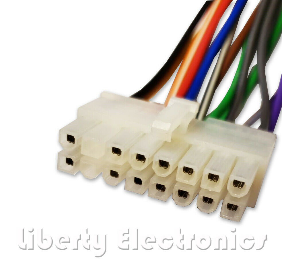 new 16 pin wire harness for pioneer deh p7200 deh p8200 $12 76 Pioneer  Radio at