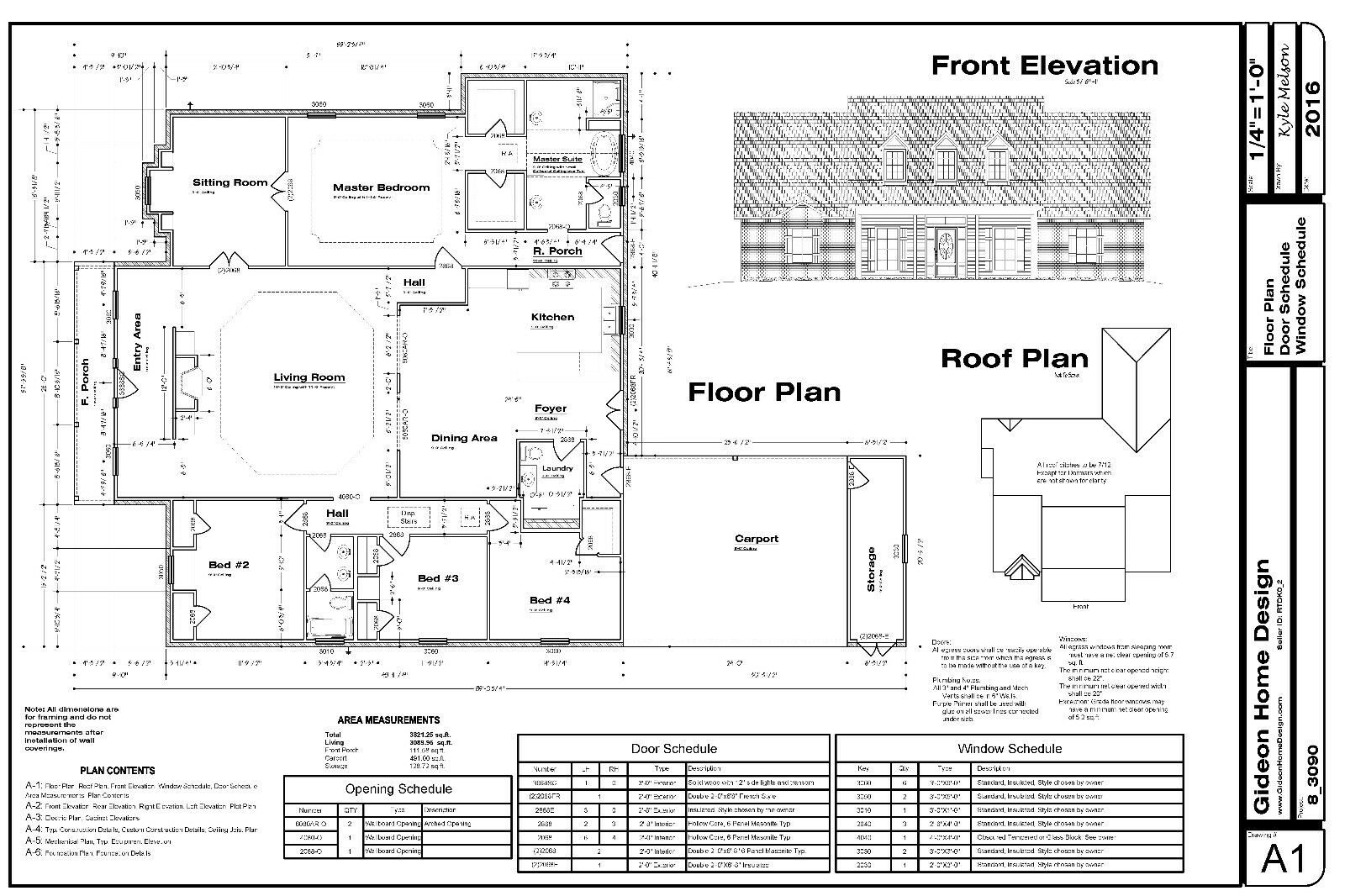 Cad dwg and pdf files for custom home house plan 3 090 sf for House plan cad file