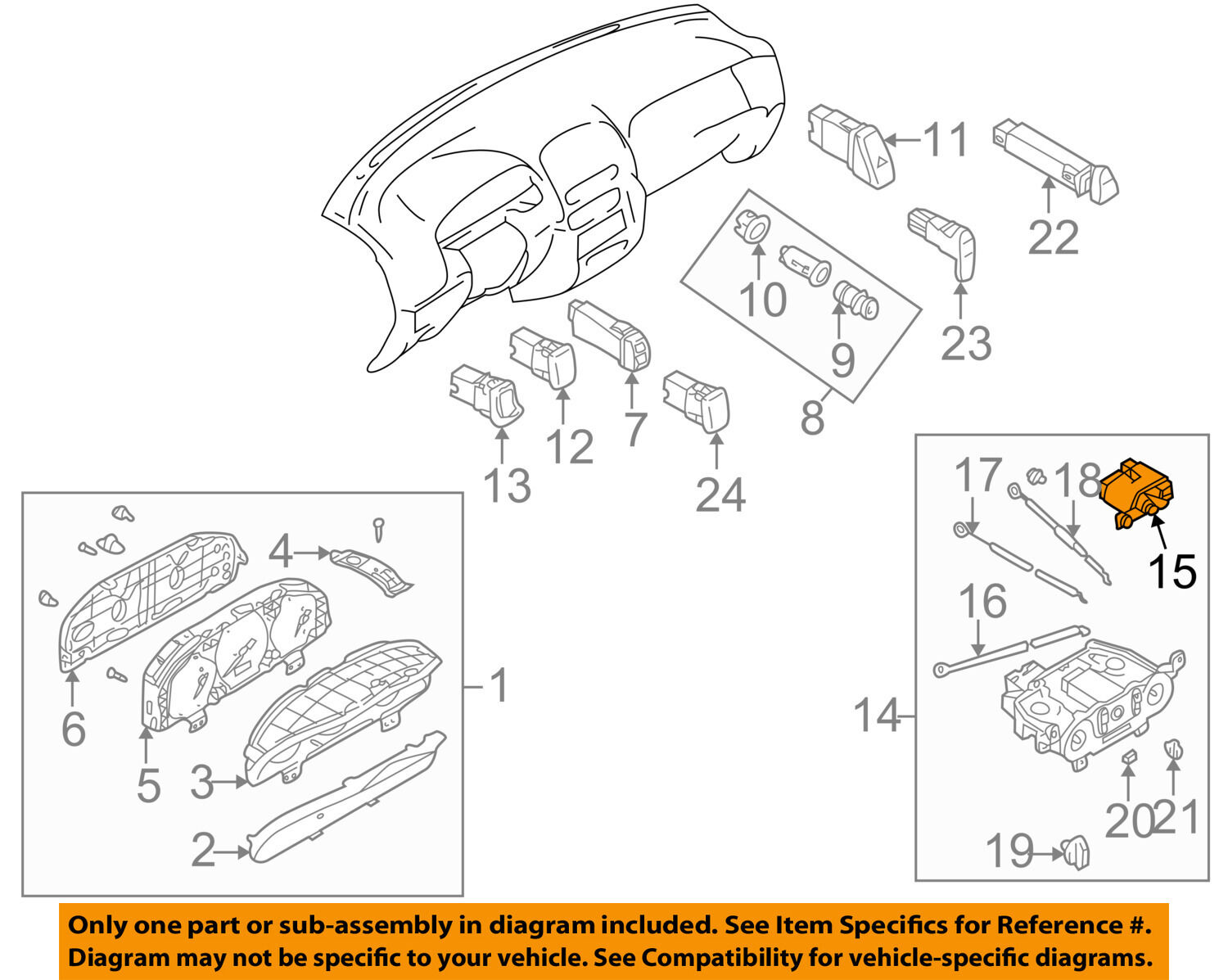 MAZDA OEM 01-03 Protege-AC Heater Blower Motor Switch LB8361200A 1 of 2FREE  Shipping MAZDA ...