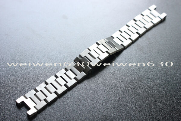 18mm for Cartier Pasha Ms series Stainless Steel Strap Exquisite Watch Band