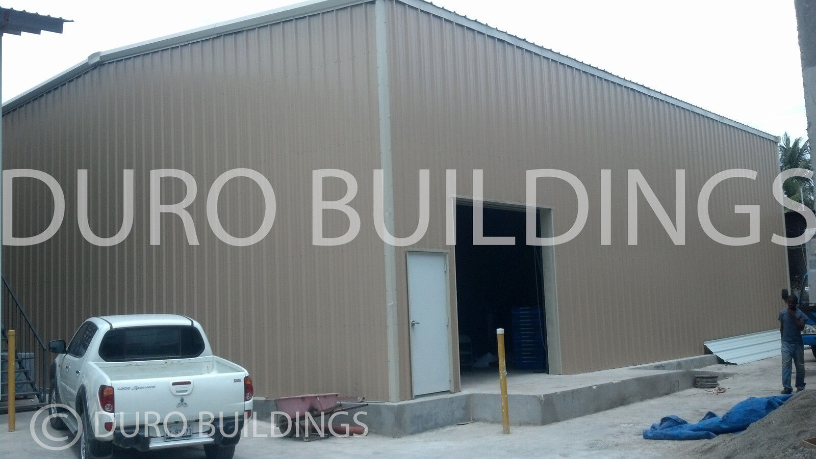 Durobeam steel 50x100 metal garage workshop building for 50x100 garage