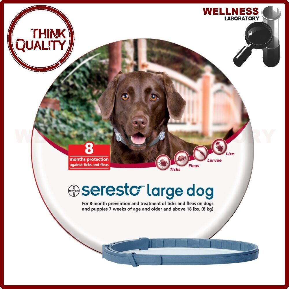 Seresto Flea Collar Large Dog Weight