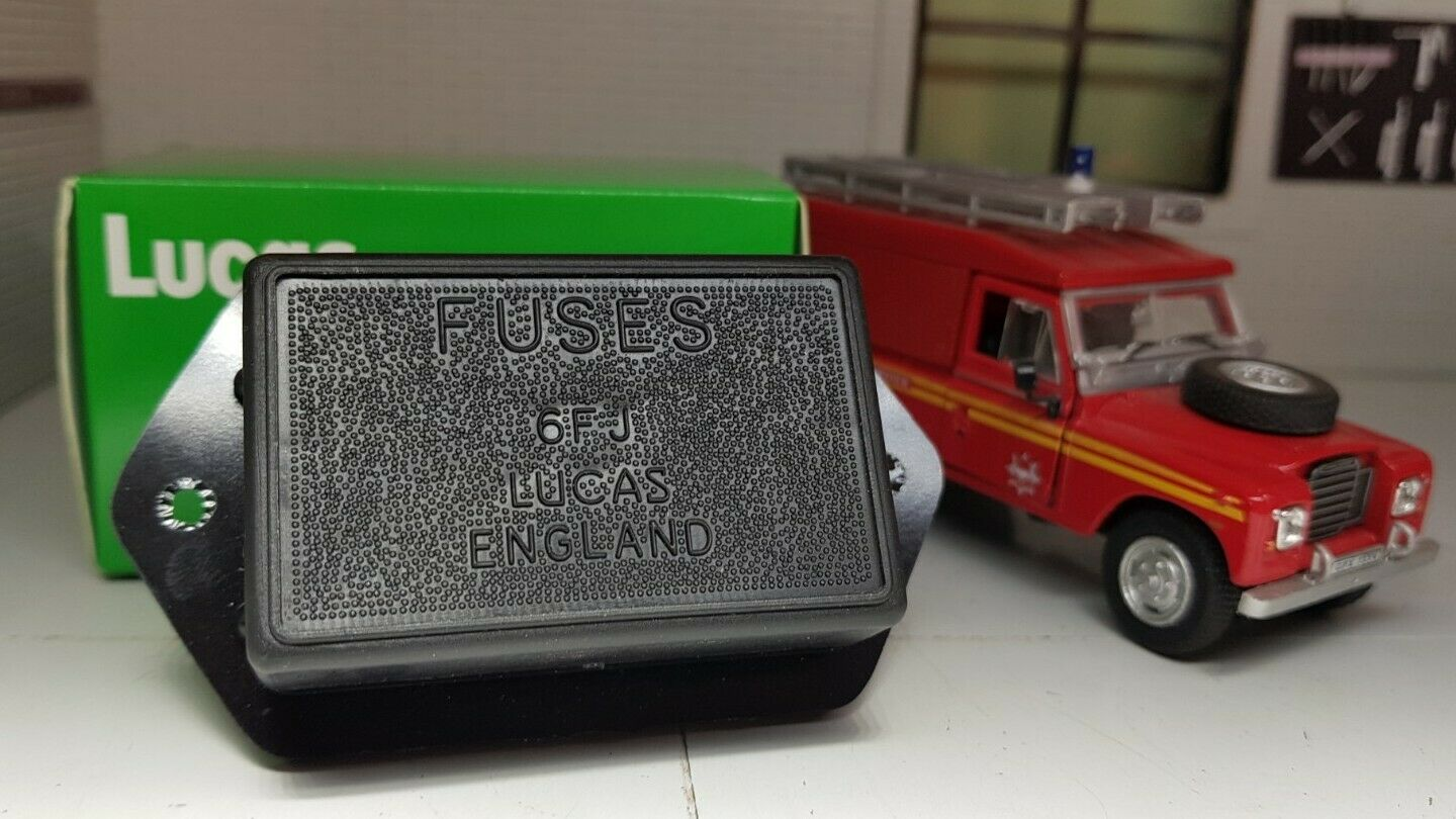 Land Rover Series 3 Genuine Lucas Fuse Box Fusebox Cover Brand New 575395