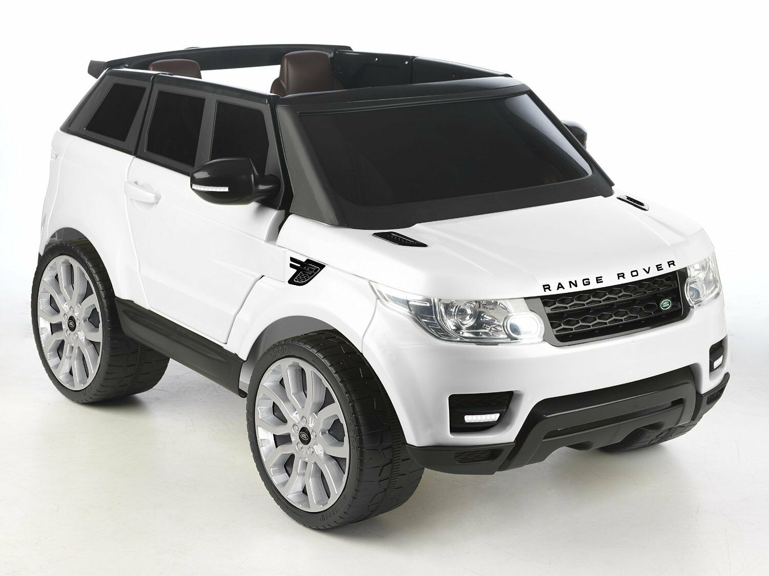 range rover sport due posti auto elettrica per bambini. Black Bedroom Furniture Sets. Home Design Ideas