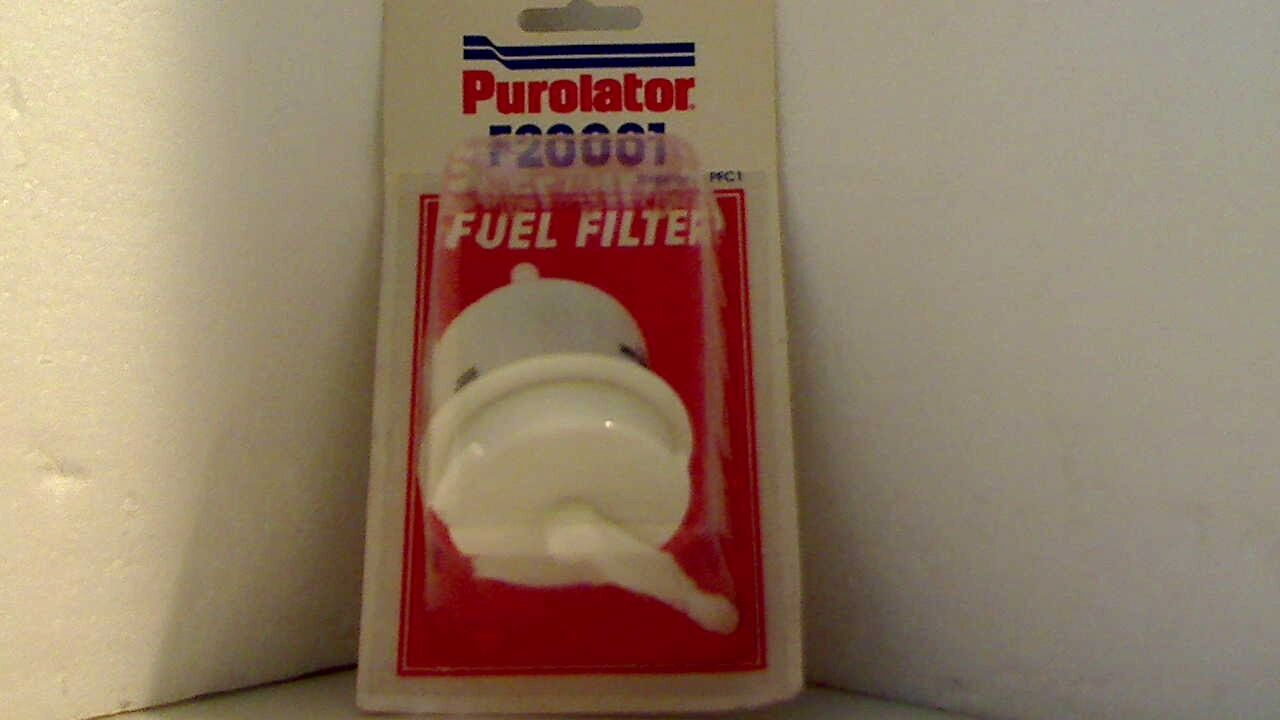 Purolator F20001 Fuel Filter 1 of 1 See More