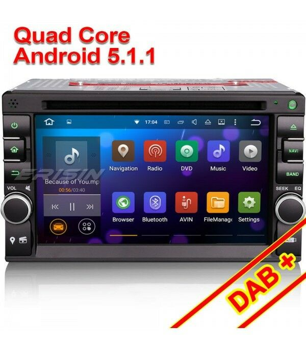 autoradio erisin gps android 5 1 nissan qashqai juke wifi 3g dab 4core no dogana eur 339 99. Black Bedroom Furniture Sets. Home Design Ideas