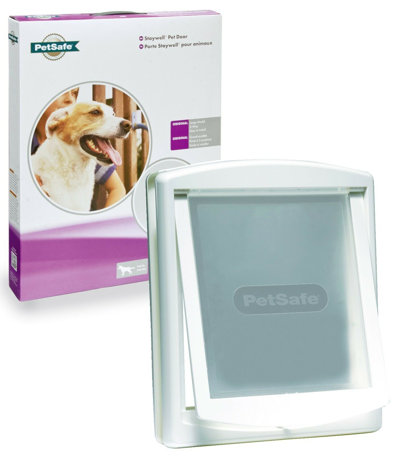New Large Dog Pet Door Staywell Dog Door & Plastic Flap 760