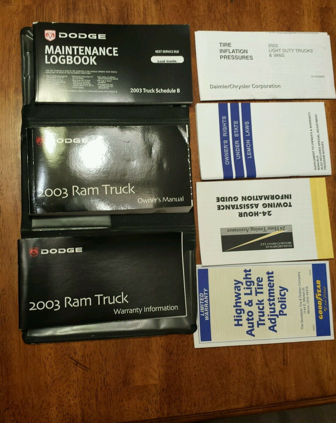 2003 03 Dodge Ram truck Owners Manual booklets oem 1 of 5Only 1 available  ...