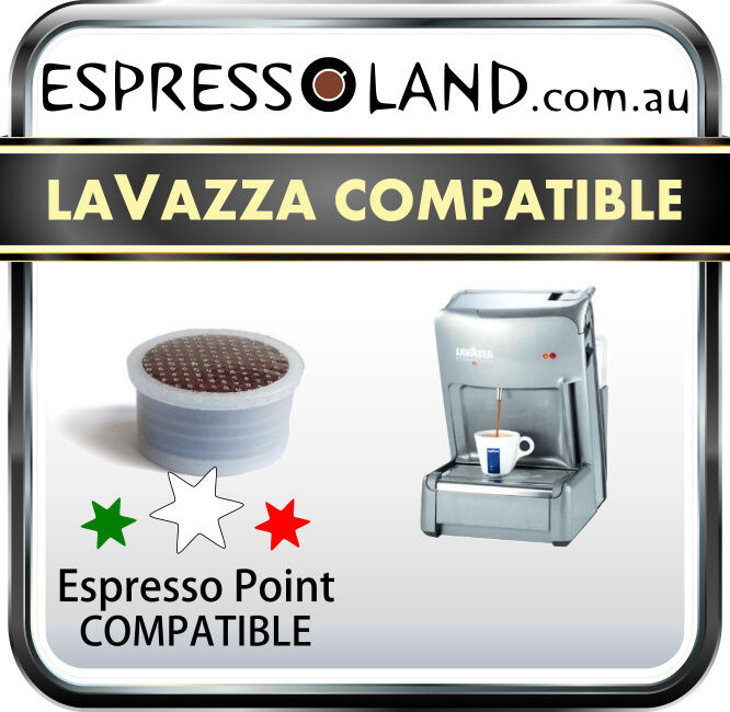 100 coffee pods compatible with all machines Lavazza Espresso Point -  capsules