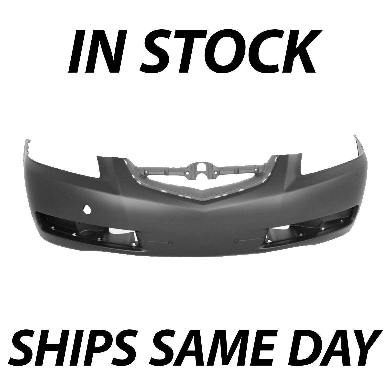 NEW PRIMERED Front Bumper Cover Fascia Replacement For - 2006 acura tl front bumper