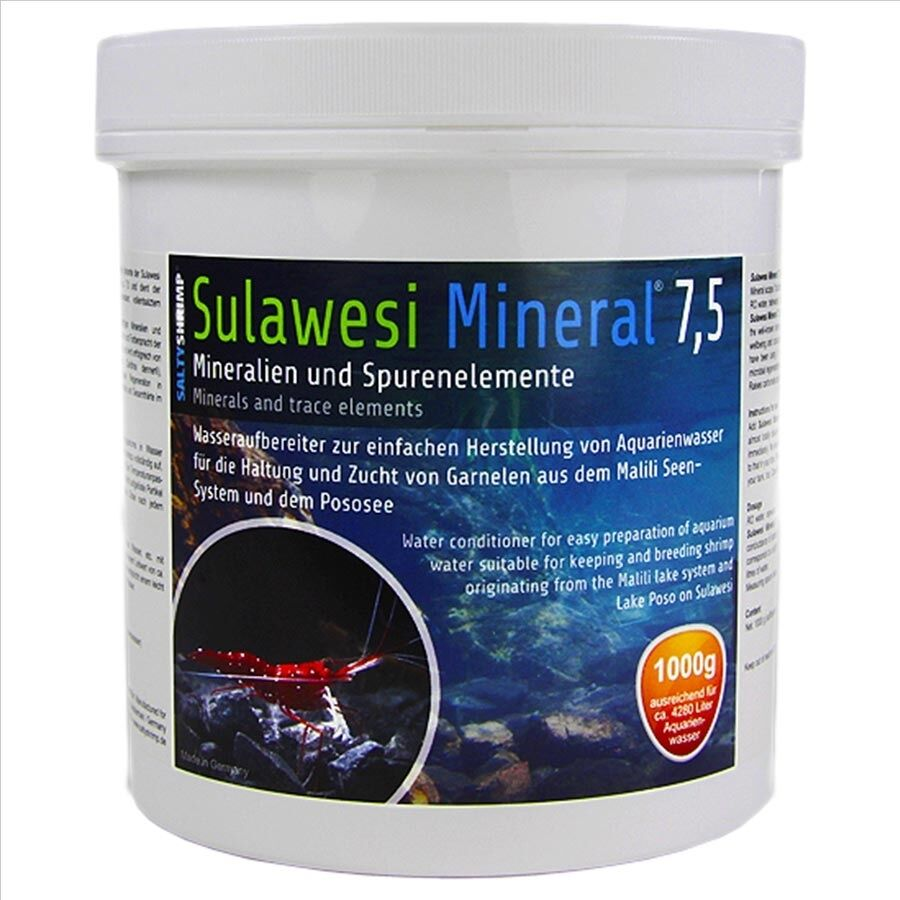 Salty Shrimp ** Sulawesi 7.5  ** Perfect Ph And Minerals For Ro Water ** 250G
