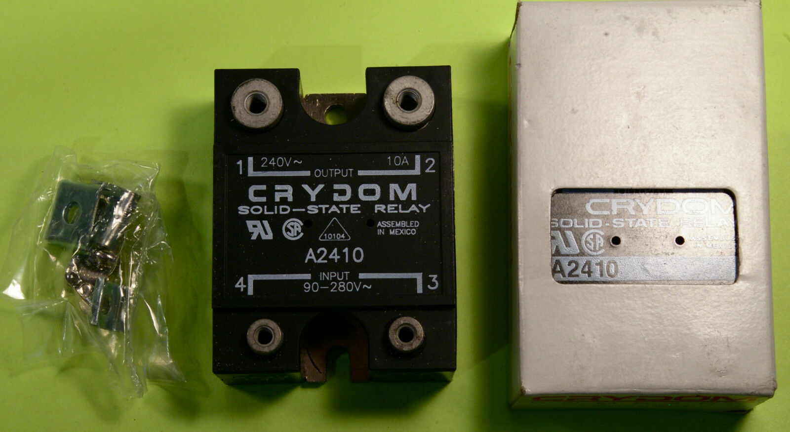 Crydom A2410 Solid State Relay 240vac 10a Output 90 280vac Input New Ac 1 Of 1free Shipping