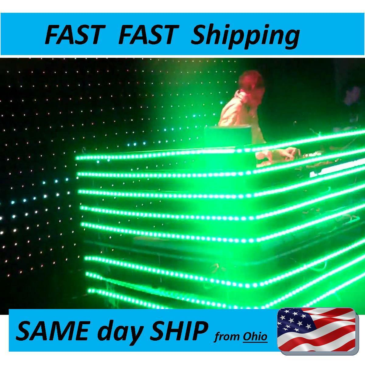 Dj booth led light strips color changing with remote control dj booth led light strips color changing with remote control fast shipping 1 of 1free shipping see more aloadofball Image collections