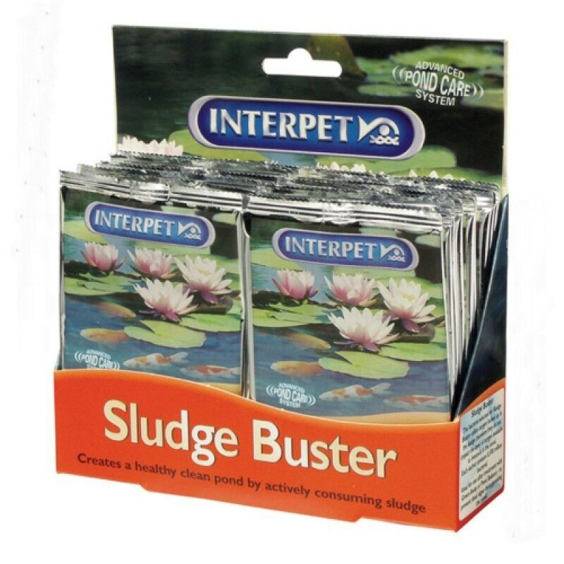 Interpet Blagdon Pond Sludge Buster x 1 Sachet Treats 500 Gals  #17E177