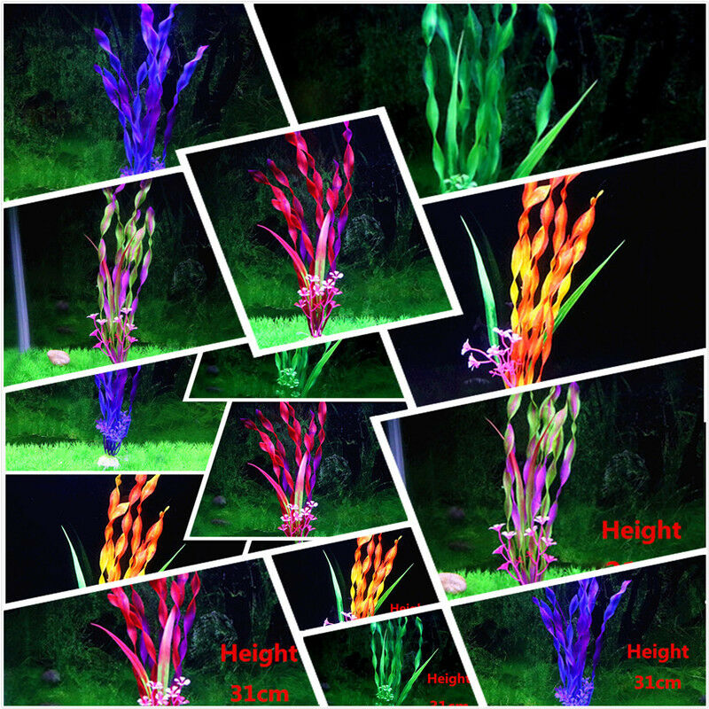 5 Couleur Aquarium Gazon Artificiel Aquarium Poisson Paysage Plante Aquatique