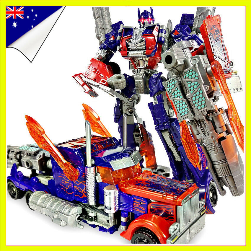 Dark of the Moon Transformers Autobots Optimus Prime  Action Figures Robot New